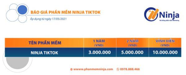 phần mềm tăng follow tik tok ninja tik tok